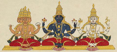 vacance en inde - les dieux